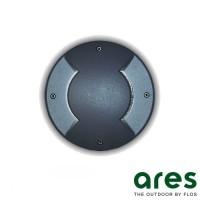 Ares Vega D27 G9 Floor Recessed Bidirectional Lighting Outdoor IP67 Black