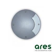 Ares Vega D27 G9 Faretto da Incasso Bidirezionale Pavimento Esterno IP67 Nero