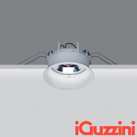 IGuzzini M981 Deep Laser Faretto Incasso Tondo Fisso BIANCO 75W G53 Alogena