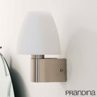 Prandina Zero S1 G9 75W Suspension Pendant Lamp Glass