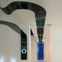 Targetti lampada sospensione nero sherazade 1t2187 1x54w fluorescenza