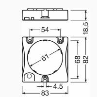 Osram LED PrevaLED AC G2 Cube 36W 3000lm 4000K