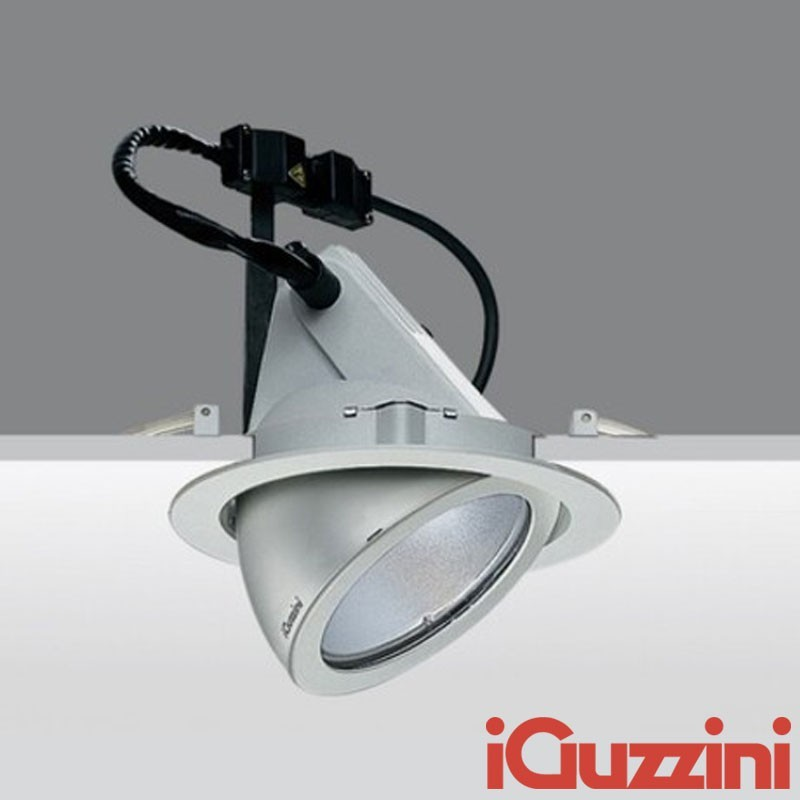 IGuzzini 8324 Pixel Grigio Faro Incasso Ioduri Metallici G12 35-70-150