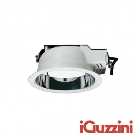 IGuzzini 3278.001 Faretto Incasso Easy Rotondo Bianco White 2x26W fluorescente