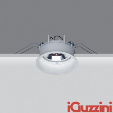 iGuzzini M975 deep laser faretto incasso tondo fisso bianco 75w alogena