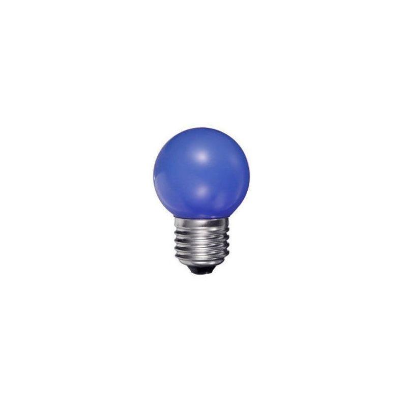 Duralamp Lampadina LED Mini Ball E27 0.5W Colorata Multicolore RGB Ping Ball