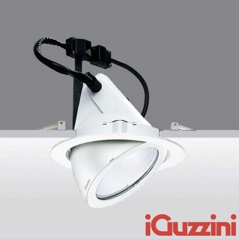 IGuzzini 8324 pixel bianco Faro Incasso Ioduri Metallici G12 35-70-150W