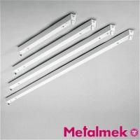 Metalmek T5 1x14W Reglette Ceiling for Fluorescent Lamp White DALI DIM