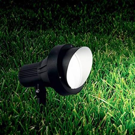 Ideal Lux Terra PT1 Small Faretto da Esterno Giardino con Picchetto GU10 35W