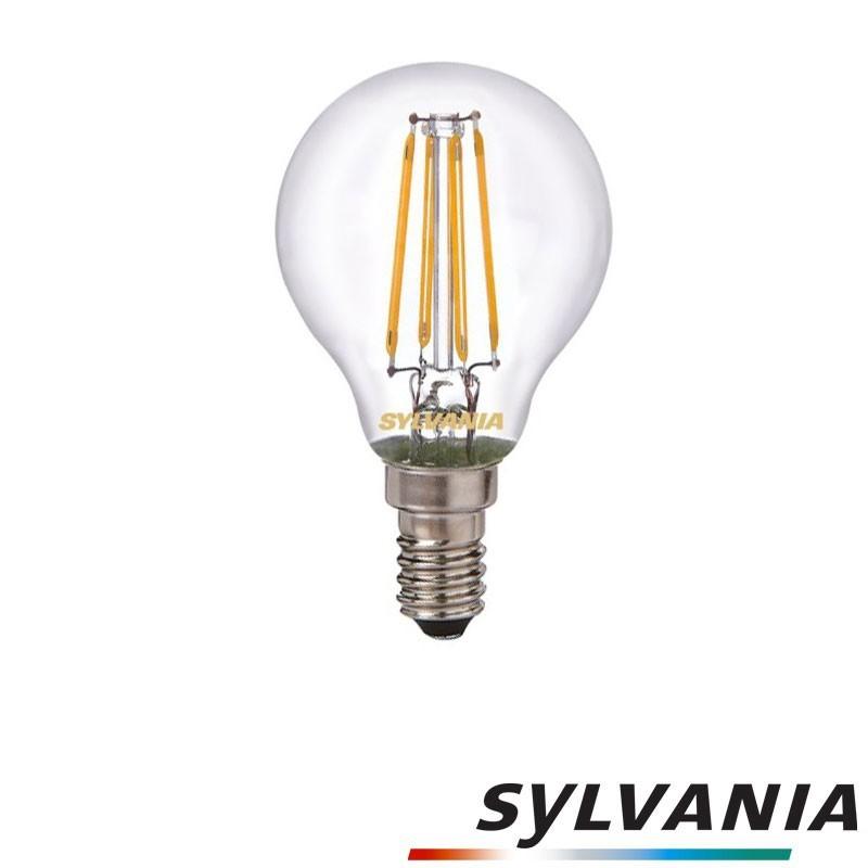 SYLVANIA ToLEDo LED Retro Vintage Ball Lampadina E14 4W-37W 420 lm 2700K