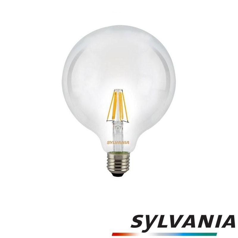 SYLVANIA ToLEDo LED Retro Vintage G120 Clear Lampadina E27 7.5W-72W 1000 2700K