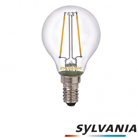 SYLVANIA ToLEDo LED Retro Vintage Ball Clear Lamp E14 2.5W-25W 250 lm 2700K