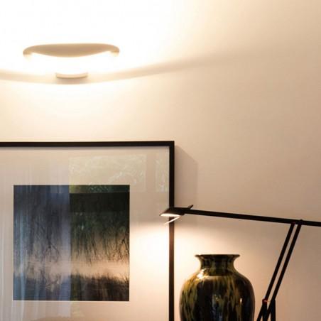 Artemide Mesmeri LED 28W white Applique Wall Lamp 0918010A