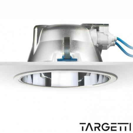 Targetti faretto incasso cct flash 54044elx 2x42w gx24q fluorescenza