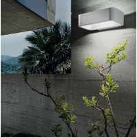 Perenz 5910B LED Applique Wall Lamp 5W 196lm IP54 Outdoor White