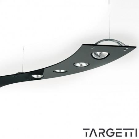 Targetti suspension module black curve sherazade 1t2173 4x100W led qr111