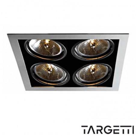 Targetti kr1 1v7378 incasso multiottica recessed 4 lampade