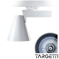 Targetti pur proiettore 70w bianco orientabile 1t2578