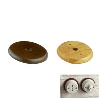 Wood Base for Installation Junction Box or Switch in ceramic or porcelain
