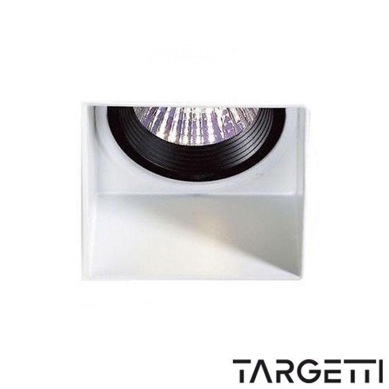 Targetti faretto incasso trimless quadro fisso fixed 1t1199 led