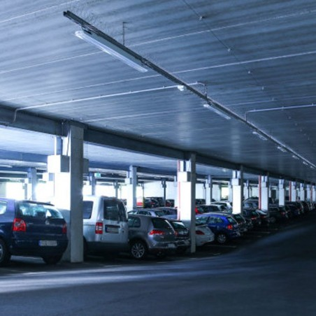 Osram LEDVANCE Damp Proof LED 2X T8 Plafoniera IP65 per Interno Esterno