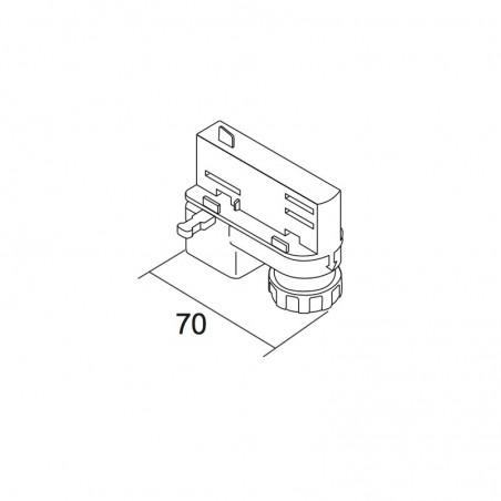 Ivela 7601-00 - W20 electromechanical adapter Gray to Binary