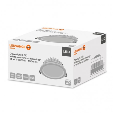 Osram LEDVANCE Downlight LED Faretto Incasso 14W 4000K 1360 lm