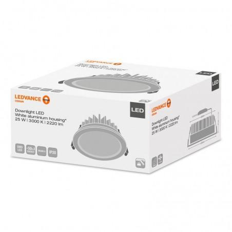 Osram LEDVANCE Downlight LED Faretto Incasso 25W 3000K 2220 lm