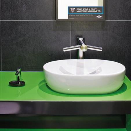 Dyson Airblade Wash e Dry Lavandino Asciugamani A Parete Veloce Igienico Rapido