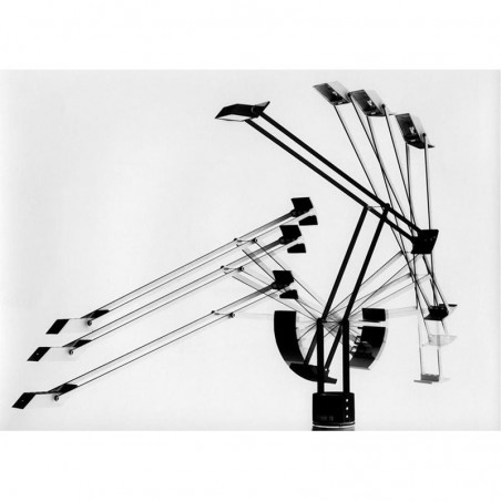 Artemide TIZIO LED Table Lamp Black A009210