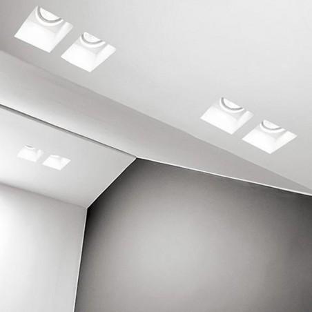 PAN INC1503 Priamo Recessed Spotlight Paintable Chalk