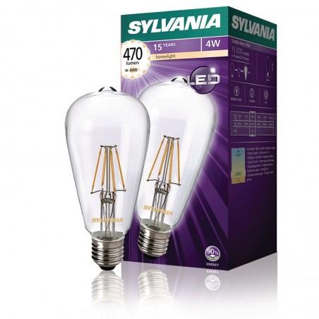 SYLVANIA ToLEDo LED Retro Vintage Retro Lamp ST64 E27 4W-40W 470 lm 2700K