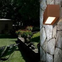PAN EST01004 Connection Applique Wall Lamp White double light emission IP54