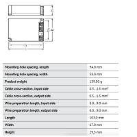 Osram Alimentatore Optotronic OTe 35W0-240V 500/600/700mA LED 22