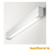 Lucifero's File Wall Lamp for Fluorescent Aluminum LT2821