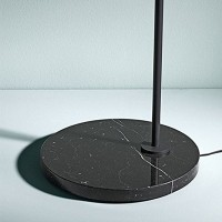 Flos Captain Flint LED Lampada da Terra Antracite/Nero F1530030