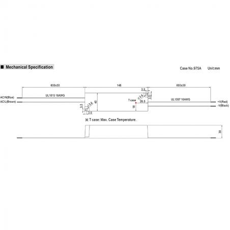 Alimentatore Meanwell LPV-35-24 35W 24V 1-5A IP67
