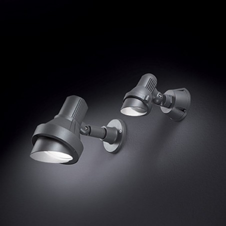 Ideal Lux Terra AP1 Small Applique Lampada da Parete 50W Gu10 Esterno Giardino IP65