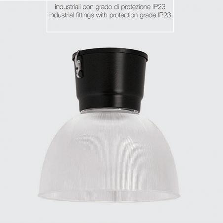Ideallux Dundi 450 Sospensione Industriale 70W G12