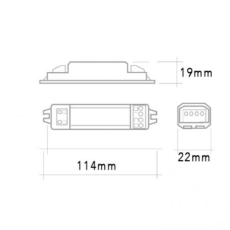 QLT SBBP ballast 1x14W-15W-18W G13 2G10 2G11 IP20 Fluorescent Lamps