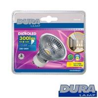 Duralamp DICRO LED 4W 300lm GU10 Lampadina luce calda