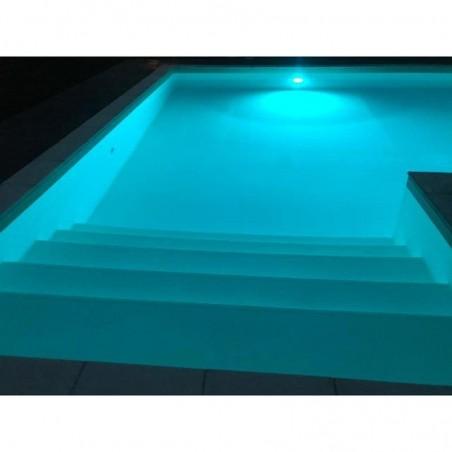 Targetti neptune faro rgb ip68 ik10 immersione 1e1417 piscina