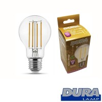 Duralamp Tecno Vintage LED 8W 1055lm E27 Bulb Dimmable Lamp Warm White