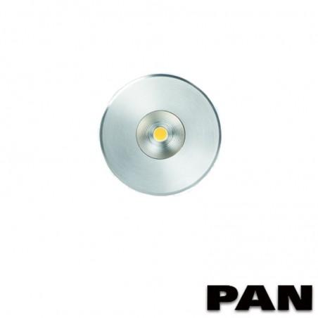 PAN Sibilla HOT EST759 LED Outdoor Floor Recessed Spotlight Round 5W 3000K 380lm Outdoor