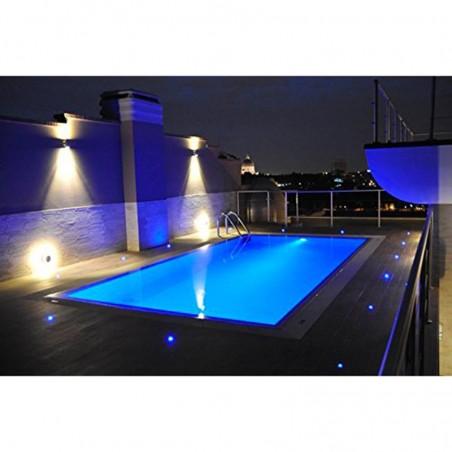 PAN Sibilla NIP EST704 LED Faretto Incasso Pavimento Esterno 3W 24V RGB 30° 130lm IP67