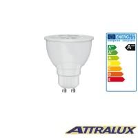 Attralux LED GU10 5.5W-65W 4000K 450lm 36° Luce Bianco Fredda Lampadina