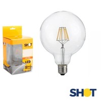 Bot Lighting Shot Lampadina Dimmerabile Globo 125 LED E27 3W 2700K 250lm