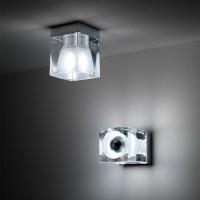 Fabbian cube d28e01 ceiling ceiling crystal GU10
