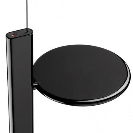 Flos OK Suspension Pendant Lamp Black F4640030 by Konstantin Grcic