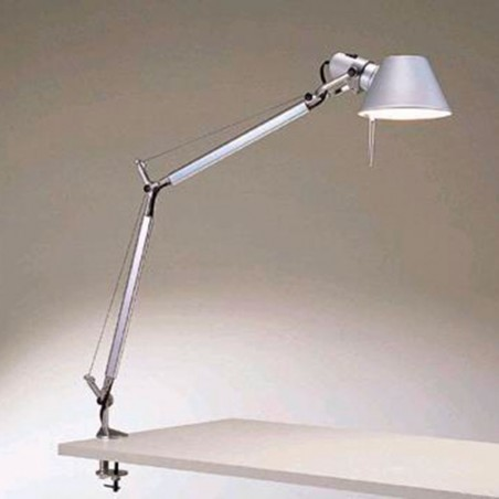 Artemide Adjustable Clamp T For Tolomeo, Tolomeo Table Lamp With Clamp